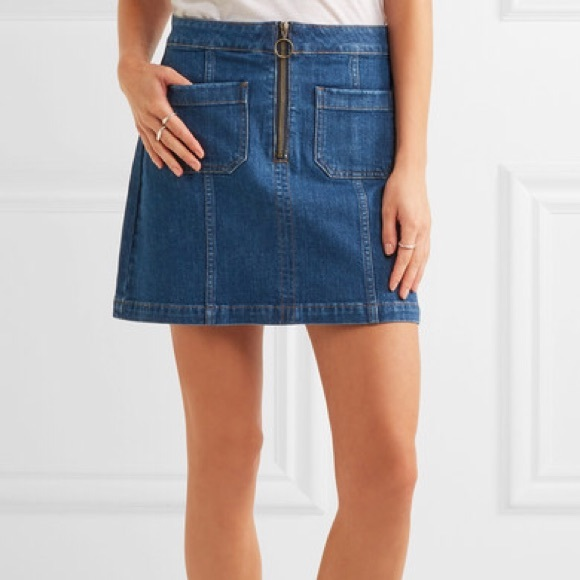 Madewell Dresses & Skirts - MADEWELL denim zip ring skirt - size 26